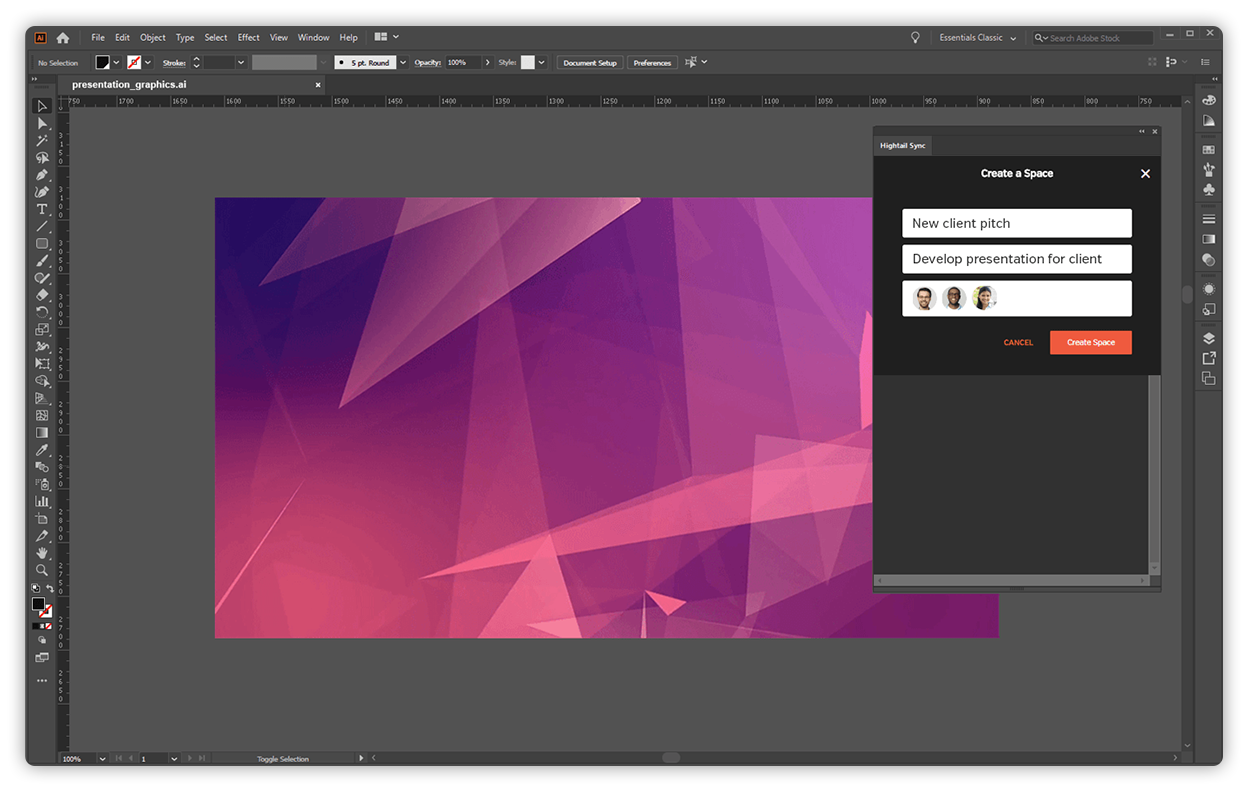 Respond to feedback and sync latest versions without leaving Adobe Creative applications